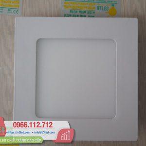 Đèn LED âm trần 6W siêu mỏng, vuông - O3PN6TV