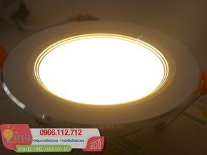 Giá và cách lắp đặt Đèn LED âm trần 7W tròn, nhôm, 3 chế độ