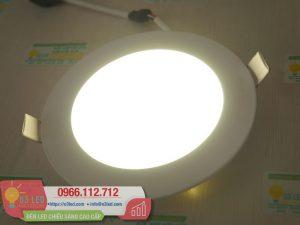 Giá và cách lắp đặt Đèn LED âm trần 9W tròn, 3 chế độ