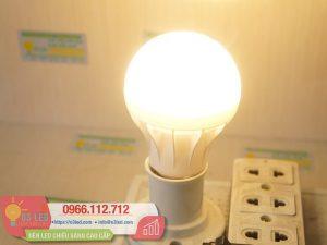 Den LED Bulb 9W Nhua(12)