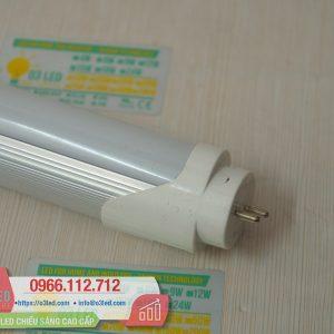 Đèn LED TUBE 20W Nhôm gắn đầu