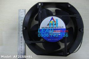 Quạt hút Lunan AF2155HSL, 220VAC, 172x150x51mm